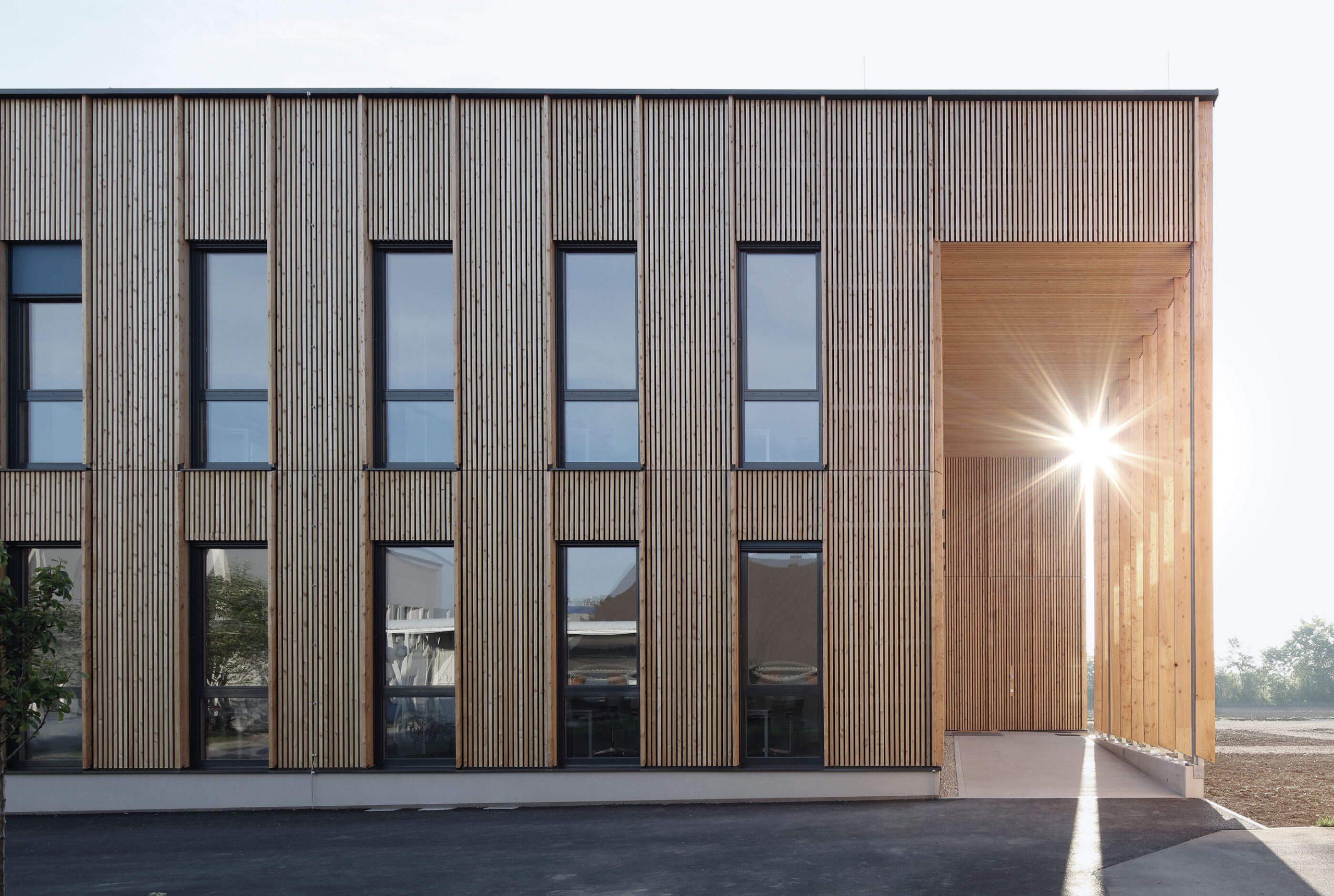 Víťaz architektonickej súťaže - drevostavba,