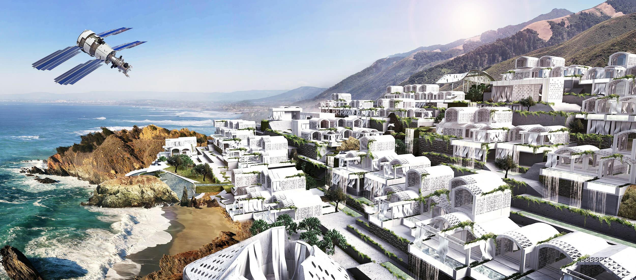 Vizualizace projektu ATMOS Resort